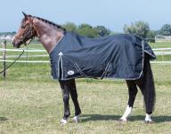 Harry's Horse Regendecke Thor ebony 0 gr wasserdicht 600D Gehfalte atmungsaktiv