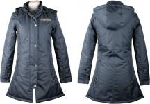 Harry's Horse Lange Jacke Whitby Total eclipse 300D Gr. M =38 abnehmbare Kapuze