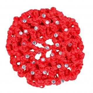 QHP Haarnetz Diamond Perlennetz elastisch Universalgröße diverse Farben - Vorschau 2