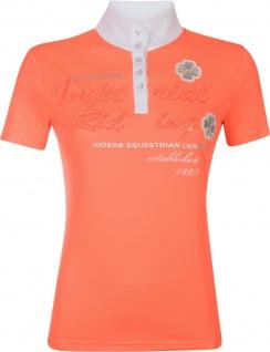 Imperial Riding Mädchen / Damen Turniershirt Diadeem kurzarm Stehkragen Strass - Vorschau 2