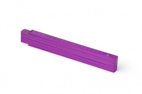 Zollstock Metrie Block 52 - 2m violett (PAN 512)