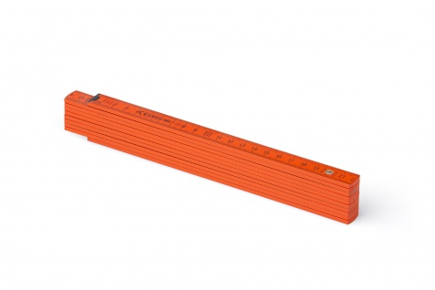 Zollstock Metrie Block 52 - 2m orange (PAN 166C)