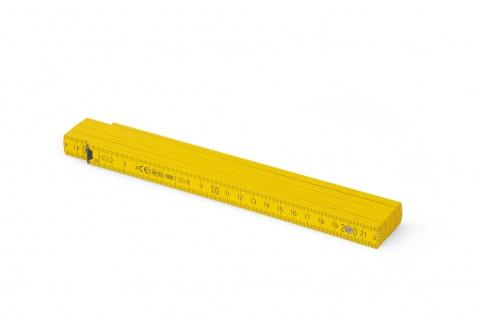 Zollstock Metrie Block 52 - 2m gelb (PAN 012) - Vorschau 2
