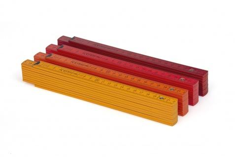 Zollstock Metrie Block 52 - 2m Ockerfarbe (PAN 139) - Vorschau 4