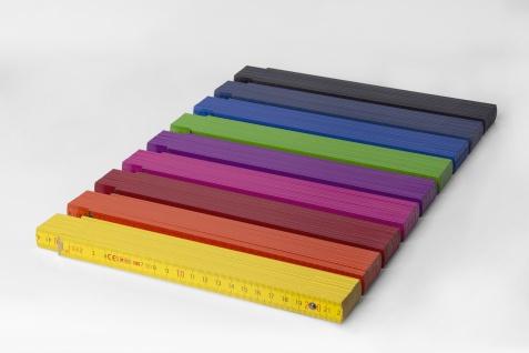 Zollstock Metrie Block 52 - 2m violett (PAN 512) - Vorschau 4