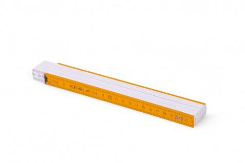 Zollstock Metrie Block 52 - 2m orange weiß (PAN1375) - Vorschau 2