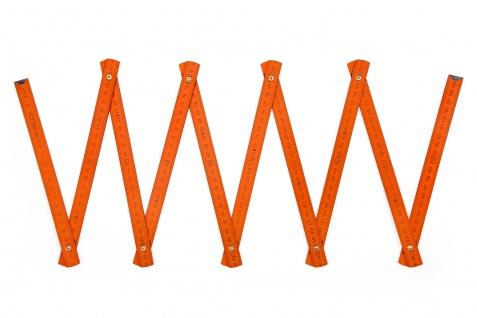 Zollstock Metrie Block 52 - 2m orange (PAN 166C) - Vorschau 3