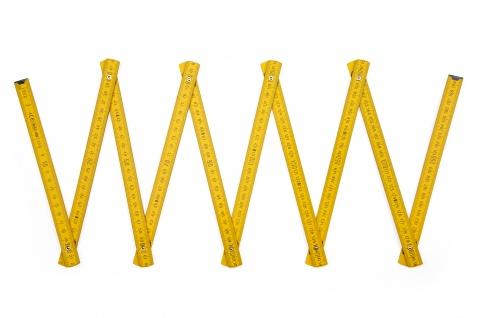 Zollstock Metrie Block 52 - 2m gelb (PAN 012) - Vorschau 3