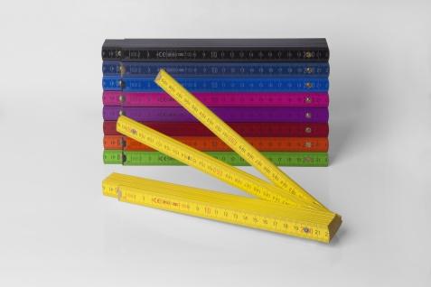 Zollstock Metrie Block 52 - 2m gelb (PAN 012) - Vorschau 4