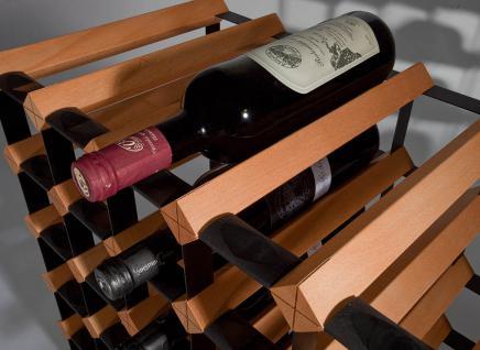 """Marken Holz Weinregal RAXI """"Classic"""" für 42 Flaschen - Vorschau 4"""