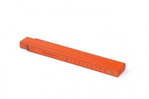 Zollstock Metrie Block 52 - 2m orange (PAN 166C) - Vorschau 2