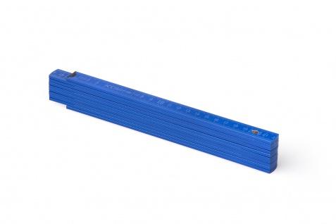 Zollstock Metrie Block 52 - 2m hellblau (PAN293)