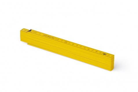 Zollstock Metrie Block 52 - 2m gelb (PAN 012)