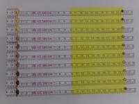 10x Zollstock | Gliedermaßstab | Schmiege | weiß-gelb - 2m