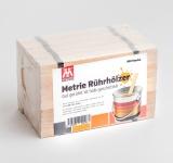 500x Rührholz | Spatel | Farbrührspatel | Bastelholz - 258x16x3, 2 mm