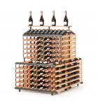"""Marken Holz Weinregal RAXI """"Vinothek"""" für 360 Flaschen - Vinothek Regal"""