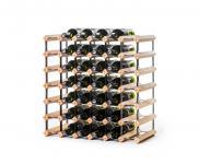 "Marken Holz Weinregal RAXI ""Classic"" für 42 Flaschen"