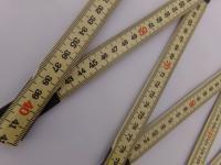20x Schwedenmeter | Gliedermaßstab | Zollstock - 2m