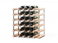"""Details zu Marken Holz Weinregal RAXI """"Classic"""" für 30 Flaschen"""