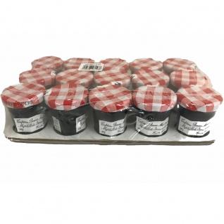 Bonne Maman Myrtilles Marmelade aus Frankreich Heidelbeere 15 x 30 Gramm aus Frankreich