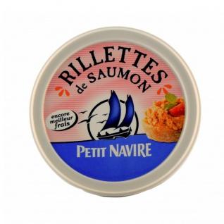 Petit Navire - Rillettes de Saumon 125g