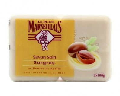 Le Petit Marseillais Seife mit Sheabutter 2x100 Gramm aus Frankreich