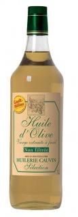 Cauvin feinstes Olivenöl aus spanischen Oliven ungefiltert 1Liter