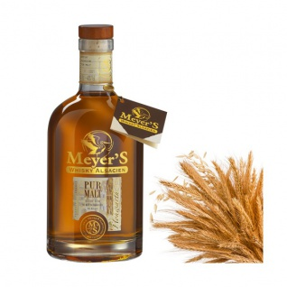 Meyer's Whisky Pure Malt 70cl 40% Whiskey aus Frankreich Elsass