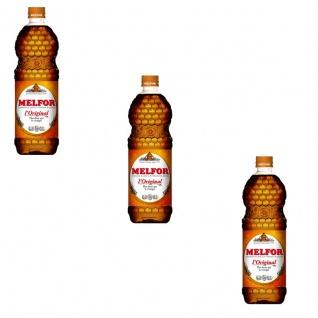 Melfor das Original Essig Würzmittel 3 x 1 Liter Flasche