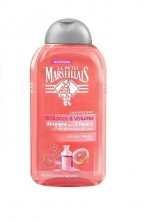 Le Petit Marseillais Shampoo Essig mit 3 Blüten und rosa Grapefruit feines Haar 250 ml