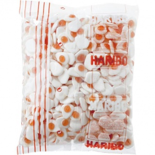 Haribo Spiegeleier Soft Kaubonbons im 1, 5 KG Mega Pack
