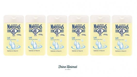 Le Petit Marseillais Duschgel mit Milch 6x250 ml aus Frankreich