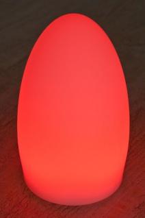 Luminatos EGG 20, LED Tisch-Leucht-Ei 20 cm inkl. Fernbedienung Tischleuchte - Vorschau 5