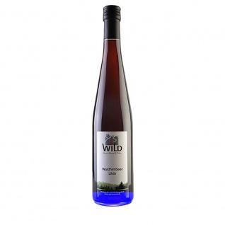 Wild feinste Brände & Liköre Schwarzwald Waldhimbeerlikör 17%vol 0, 7 Liter