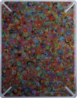 """BODINO Designer Skin / Schutzfolie für iPad by Allison Gregory """" COTTON CANDY"""""""