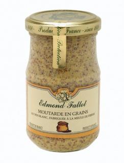 Edmond Fallot - Moutarde en Grains Körniger Dijon Senf 205g