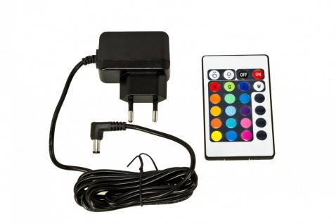 Luminatos 16 LED Eiskühler mit Farbwechsel Fernbedienung Akku Betrieb Eiseimer - Vorschau 5