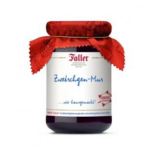 Marmelade aus dem Schwarzwald Faller Zwetschgen-Mus extra hausgemacht! mit 60% Frucht 330 Gramm