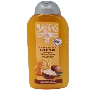 Le Petit Marseillais Shampoo mit Shea und Honig für trockenes sprödes Haar 250 ml