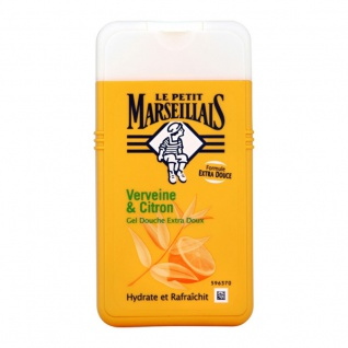Le Petit Marseillais Duschgel mit Eisenkraut und Zitrone 250 ml aus Frankreich