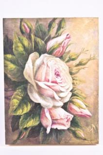 """Gemälde """" Rosenbouquet"""", handgemalt auf Leinwand mit Keilrahmen"""