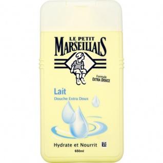 Le Petit Marseillais Duschgel und Badezusatz mit Milch 650 ml aus Frankreich