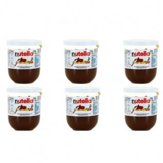 Ferrero nutella im praktischen Trinkglas 6 x 200 Gramm