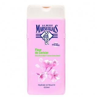 Le Petit Marseillais Duschgel und Badezusatz mit Kirschblüten 650ml