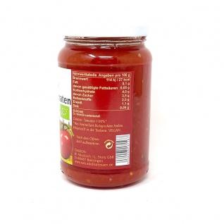 CHIRON Naturdelikatessen Bio Bruschetta Tomaten kbA 340 Gramm Glas - Vorschau 2