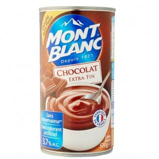 Mont Blanc La creme dessert au chocolat Schokoladencreme 570 Gramm