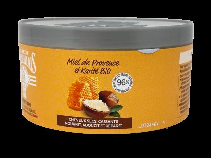 Le Petit Marseillais Haarkur mit Shea Butter, Honig und Arganöl 300 ml für trockenes sprödes Haar