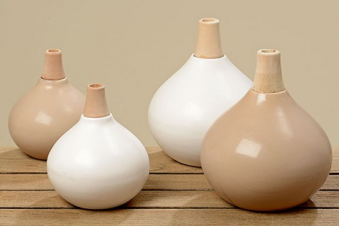 "2er-Set Vasen "" Hany"" groß 12 x 11 cm - Vorschau 2"