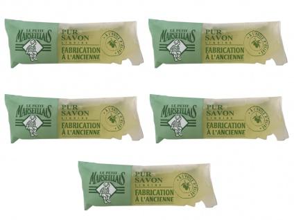 Le Petit Marseillais Flüssigseife Olive 5 x 250 ml Nachfüllpack aus Frankreich