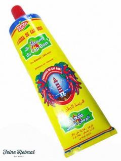 Harissa La Flamme CAP BON SEHR SCHARF CHILLI Paste Sauce 70Gramm Tube